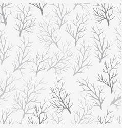 pattern of the branches vector image