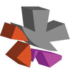 3d asterisk symbol vector