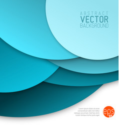 Abstract background made from blue circles vector
