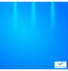 Abstract blue background with grid vector image