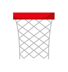 basket sport isolated icon vector image