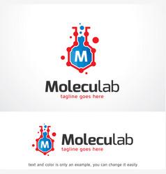 Letter m logo template design emblem design vector