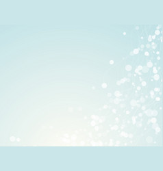 light blue dots background vector image