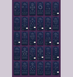 Modern infographic elements for business vector