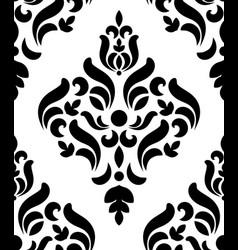 oriental damask pattern vector image