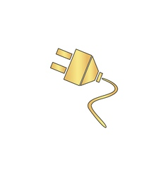 Plugs computer symbol vector