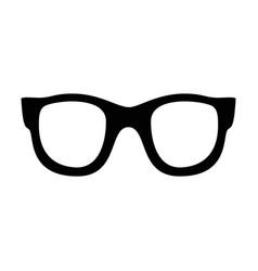 set various glasses stylish sunglasses vector image