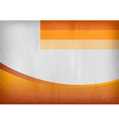 template orange curve empty vector image