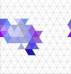 Tile triangle pattern or flat background vector image