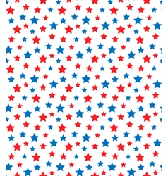 USA celebration seamless with stars in national vector