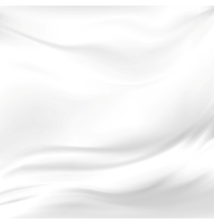 Abstract Texture White Silk vector image