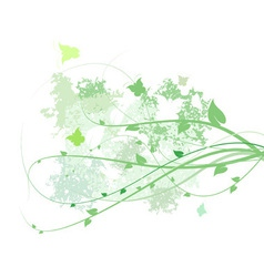 spring abstract vector image vector image