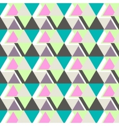 cool modern triangle pattern Abstract vector image