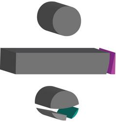 3d font symbol vector