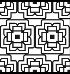abstract art deco pattern vector image