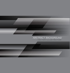 Abstract grey black speed geometric technology vector