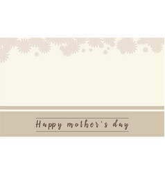 Background of mother day vector
