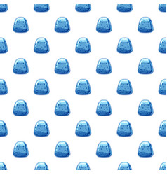 Blue candy pattern vector