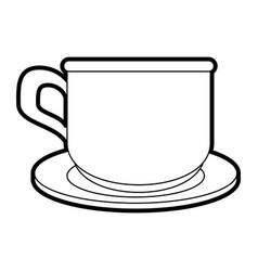 Coffe cup cartoon vector
