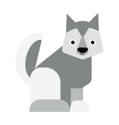 Eskimo dog vector image