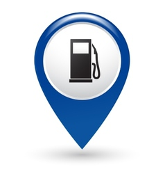 Gas station pointer vector