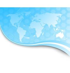 technology banner vector image