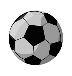 football ball sport play vector image