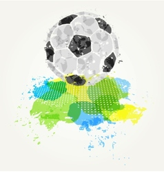 Abstract colorful ball vector image