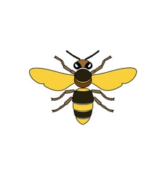 Bee-380x400 vector image