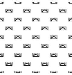 Brick oven pattern seamless vector