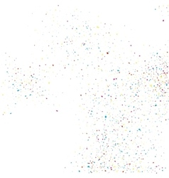 Colorful glitter shine texture on a white vector image