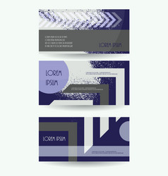 Leaflet publication template business brochure vector