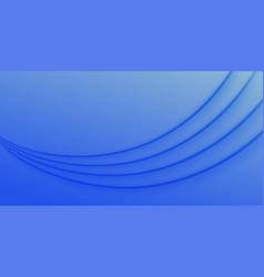 modern blue wave presentation background vector image