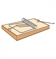 mouse-trap vector image