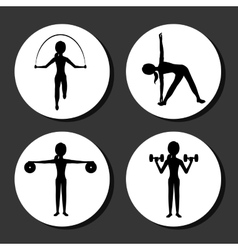 sport lifestyle vector image