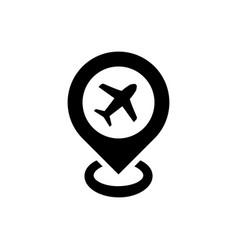 Travel destination icon vector