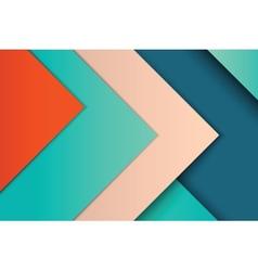 unusual modern material design vector image