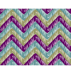 Zigzag striped background vector