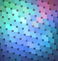 Colorful Mosaic Banner vector image vector image