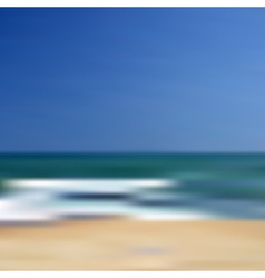 Abstract blurred unfocused beach background eps10 vector