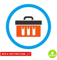 Analysis Box Eps Rounded Icon vector image