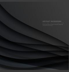 Dark abstract background design vector