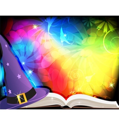 Fairytale background vector