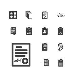 Form icons vector