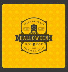 halloween celebration vector image