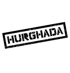 Hurghada rubber stamp vector image