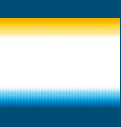 Modern blue yellow background with ocean waves vector
