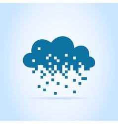 Pixel a cloud vector