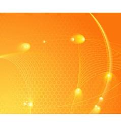 sunburst hightech template vector image