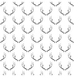 Animal Horns Seamless Pattern vector image